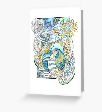 The Lord Will Watch Over You Greeting Card