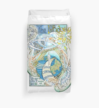 The Lord Will Watch Over You Duvet Cover