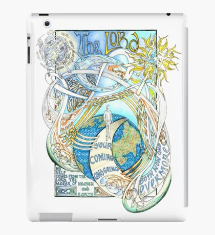 The Lord Will Watch Over You iPad Case/Skin