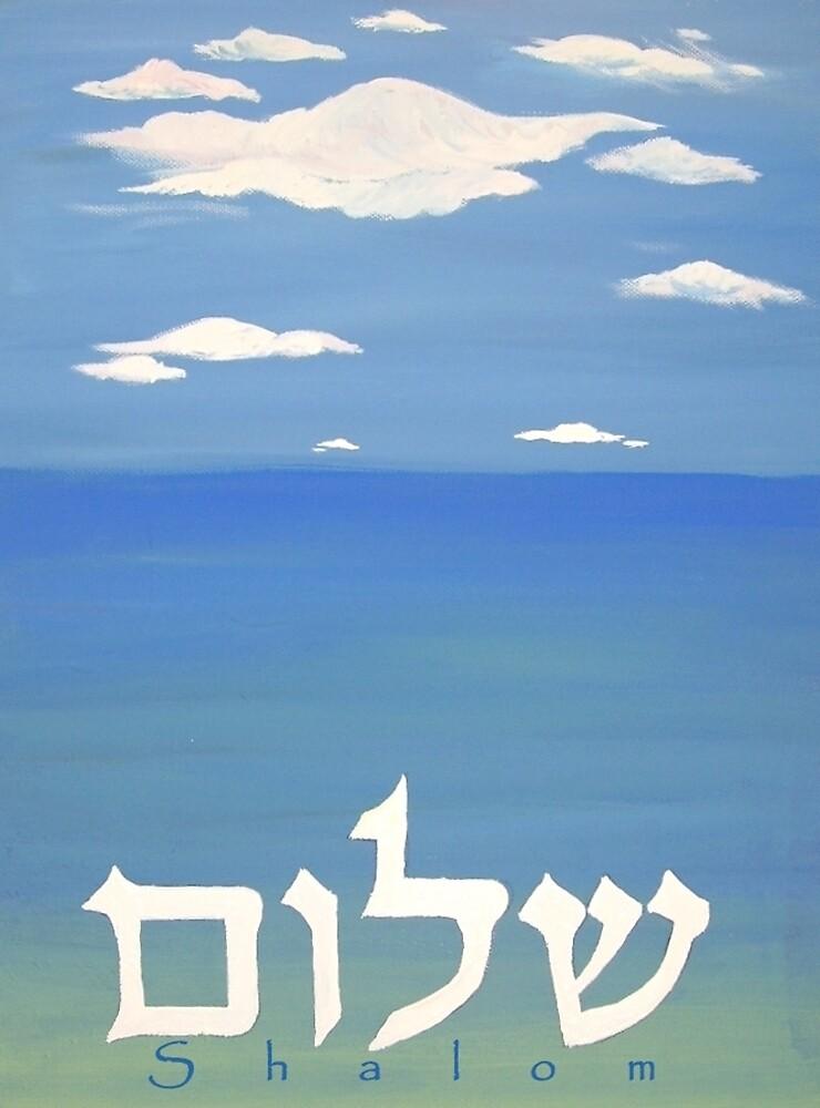 shalom Sea by aline