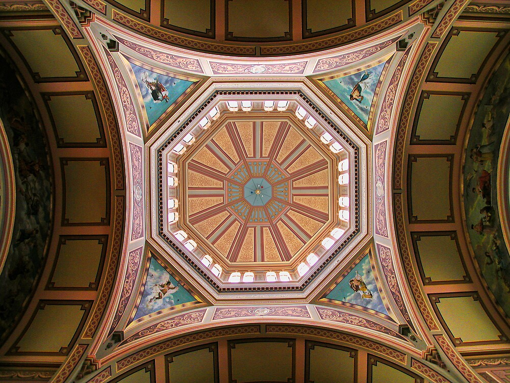 Melbourne Exhibition Building Ceiling Detail by John Barratt