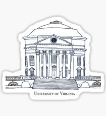 University of Virginia Rotunda Sticker