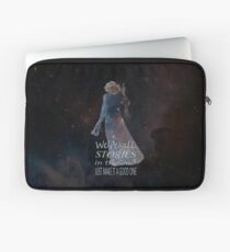 We're All Stories In The End.... Laptop Sleeve