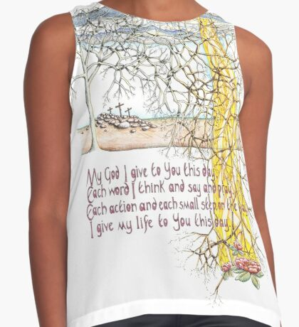 To You This Day Contrast Tank