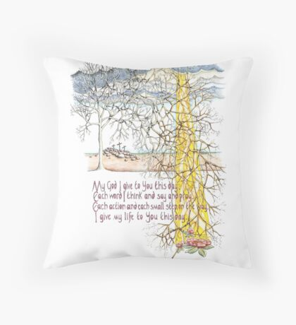 To You This Day Throw Pillow