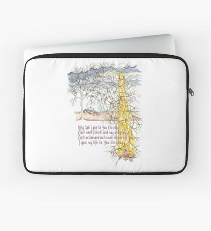 To You This Day Laptop Sleeve