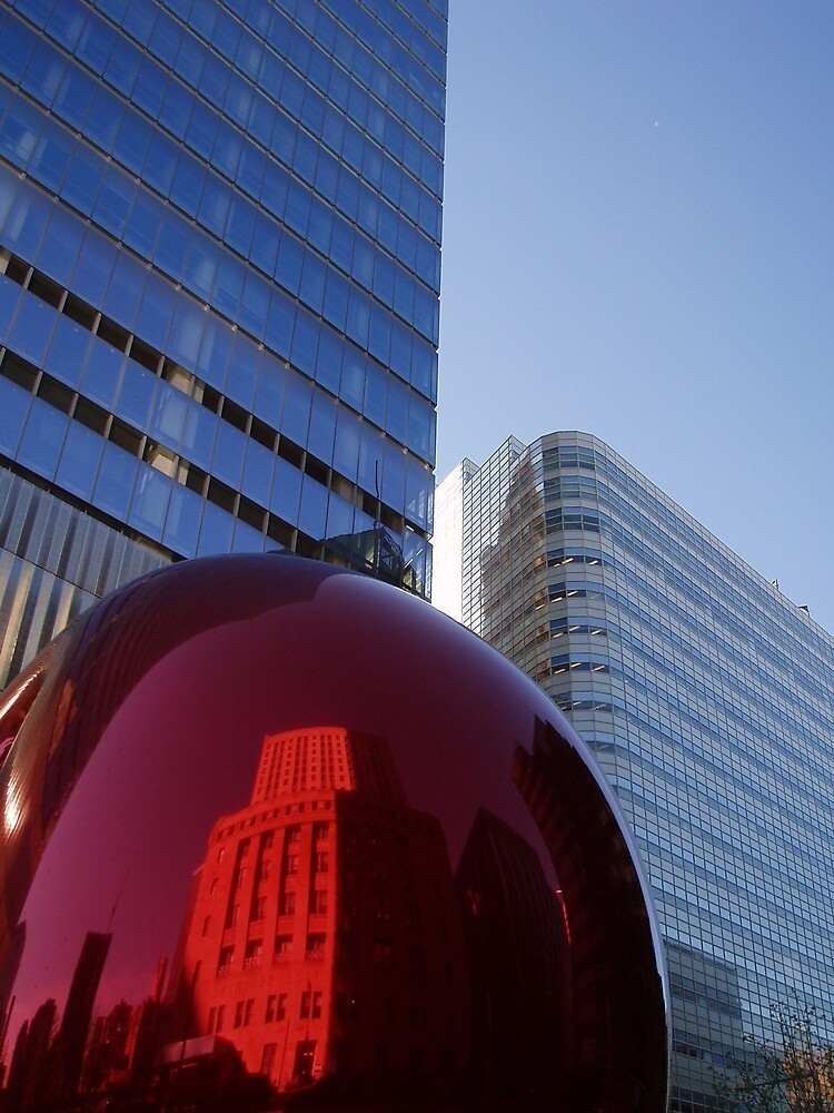 Inside and out a Red Bubble. by liqwidrok