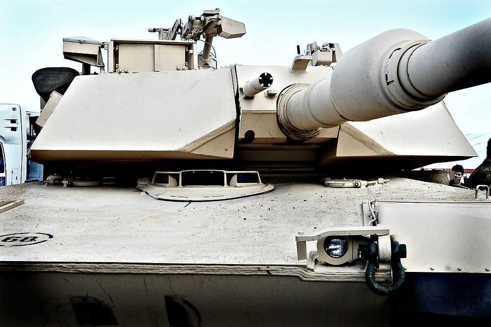 M1A1 Abrams by Nathan T