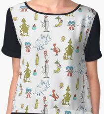 The world of Dr. Seuss Women's Chiffon Top