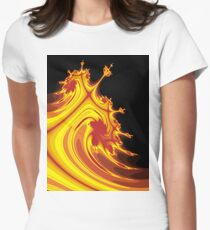 Burning Man Women's Fitted T-Shirt