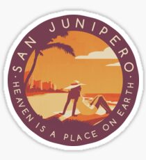 Black Mirror: San Junipero - Vintage Style Sticker