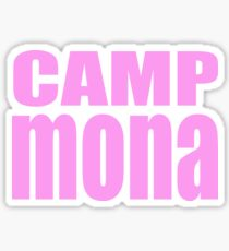 Camp Mona Sticker