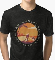 Black Mirror: San Junipero - Vintage Style Tri-blend T-Shirt