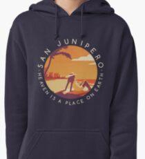 Black Mirror: San Junipero - Vintage Style Pullover Hoodie