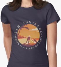 Black Mirror: San Junipero - Vintage Style Women's Fitted T-Shirt