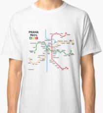Prague metro network Classic T-Shirt