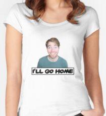Shane Dawson - I'll Go Home Women's Fitted Scoop T-Shirt