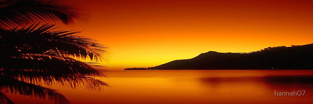 sunset by hannah07