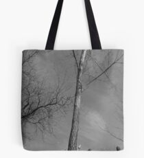 Achromatic Bliss Tote Bag