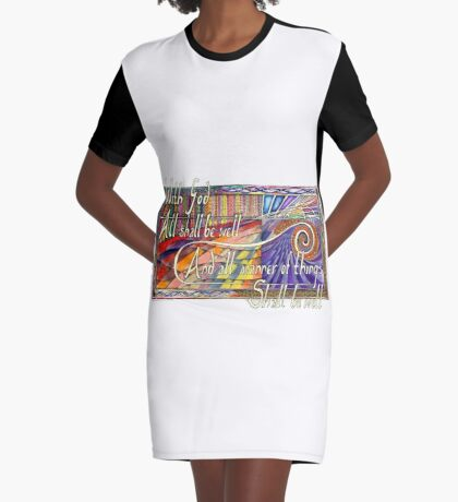 With God Graphic T-Shirt Dress