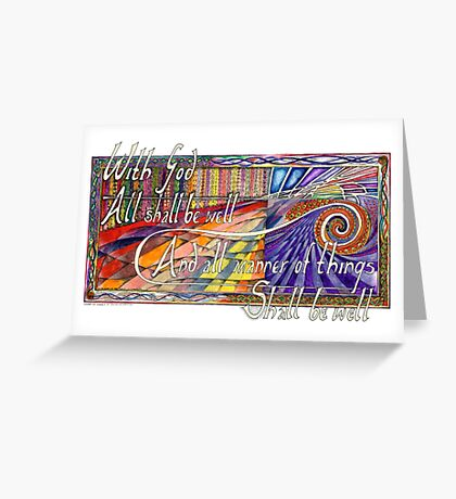 With God Greeting Card