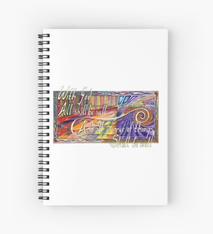 With God Spiral Notebook