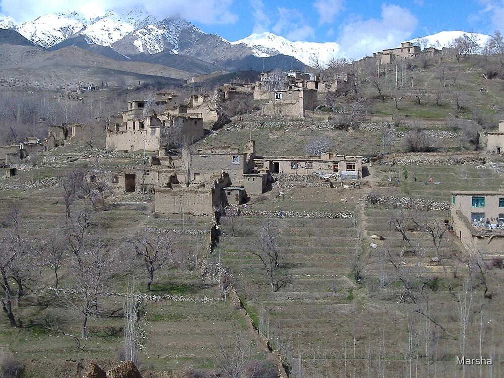 Istalif, Afghanistan by Marsha
