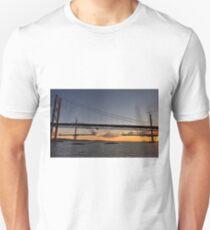Linking The Bridges. Unisex T-Shirt