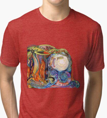 Woven Cords Tri-blend T-Shirt