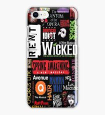 Broadway - Musical Collage iPhone Case/Skin