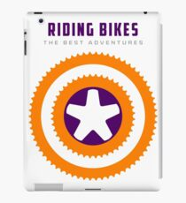 Cycling -  Superpower, Riding Bikes iPad Case/Skin