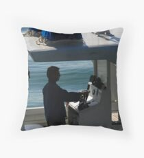 Island Traffic Throw Pillow