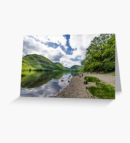 Brothers Water Lake District Greeting Card