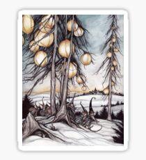 winter gnomes Sticker