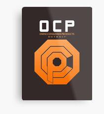 Omni Consumer Products (OCP) Metal Print