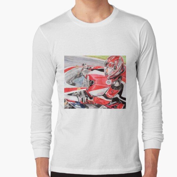 Ducati 1098R cockpit Long Sleeve T-Shirt