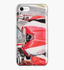 Ducati 1098R cockpit iPhone Case/Skin