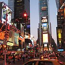 Times Square overload by Jodi Fleming