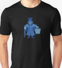 Hatbox Ghost (Blue) - The Haunted Mansion Unisex T-Shirt