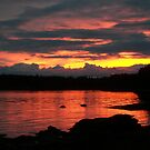 Sunset in Southeast Alaska by conurse03