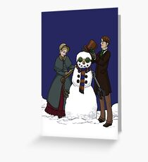 Have Yourself a Steampunk Christmas Greeting Card