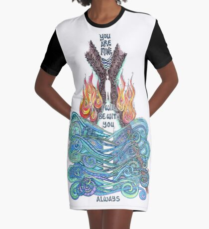 You are Mine Graphic T-Shirt Dress