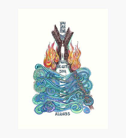 You are Mine Art Print