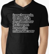 Heaven Knows I'm Miserable Now Lyrics T-shirt