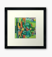 Green Canyon Framed Print