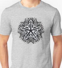 Rochester Mandala (grey tones) T-Shirt