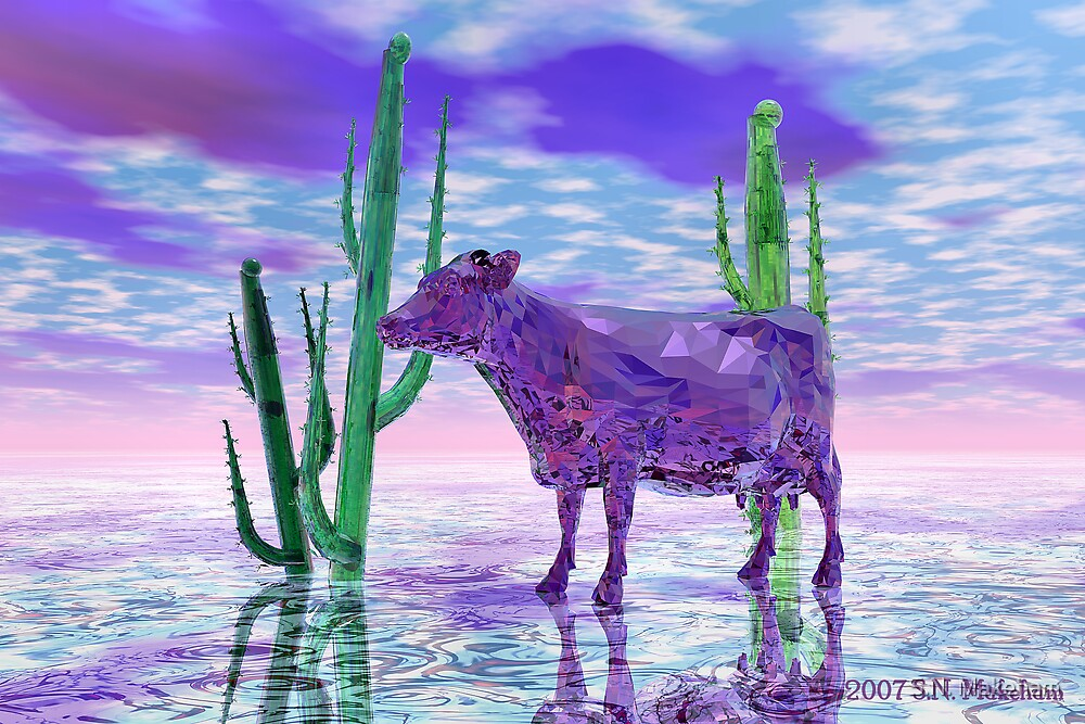 """I Never Saw... (The Purple Cow)"" by S.N. Makeham"