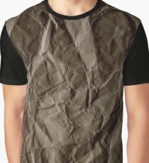 Brown paper Graphic T-Shirt