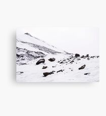 First Snow Svalbard 2 Canvas Print