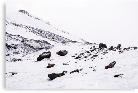 First Snow Svalbard 2 by Hilde Foss